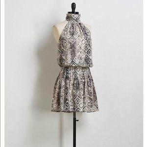 Snake Print Dress